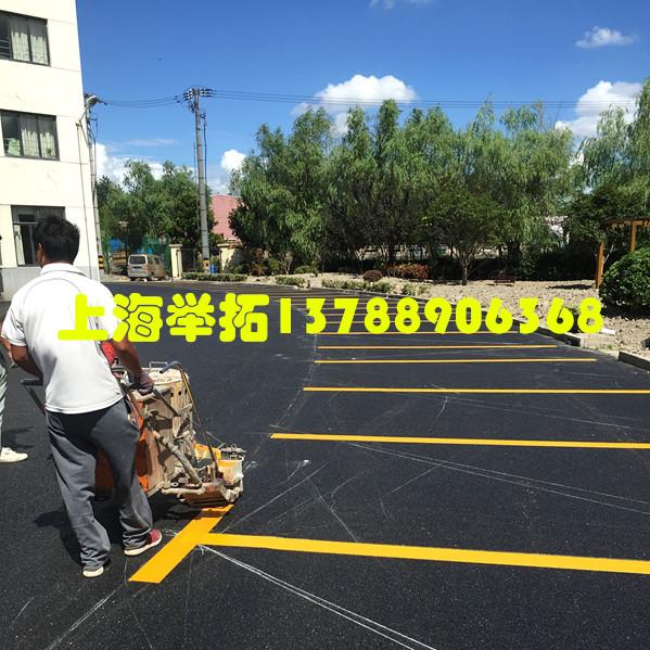停车场车位划线-001